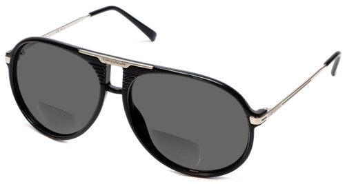 Carrera 56 in Black Polarized Bi-Focal Reading Sunglasses