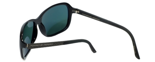 b7253f5a2bf5 ... Porsche Designer Sunglasses P8558-A in Black with Green Lens ...