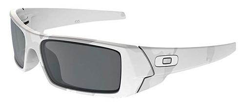 Oakley Designer Sunglasses Gascan OO9014-14 in Multicam Alpine with Black Iridium Lens