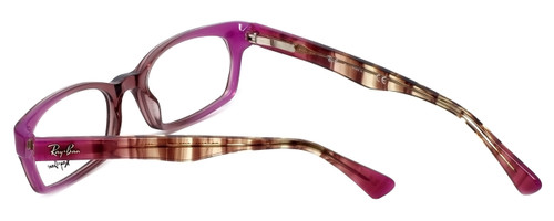 460cf3e439 ... Ray-Ban Designer Eyeglasses RB5150-5489 in Pink-Gradient 50mm    Custom  ...