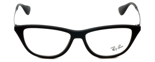 93f100ea86 ... Ray-Ban Designer Eyeglasses RB7042-5364 in Rubber-Black 54mm    Rx ...