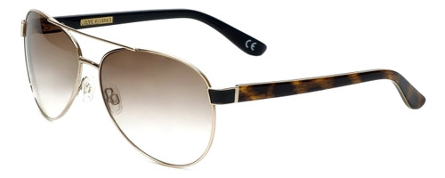 Corinne McCormack Designer Sunglasses Water Mill in Gold 59mm