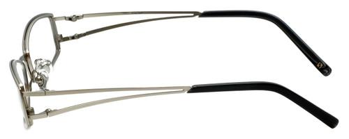 49ea4b965af ... Hilary Duff 121082 Designer Eyeglasses in Silver    Rx Bi-Focal ...