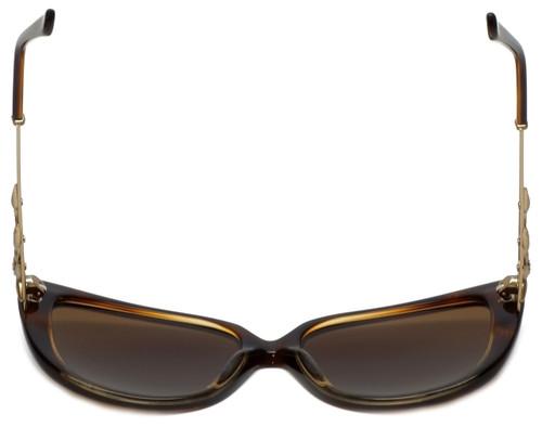 b146de91d78 ... Judith Leiber Designer Sunglasses JL5009-02 in Topaz in Brown Lens ...