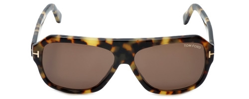 Tom Ford Designer Sunglasses Omar TF465-56J in Tortoise with Brown Lens 59mm