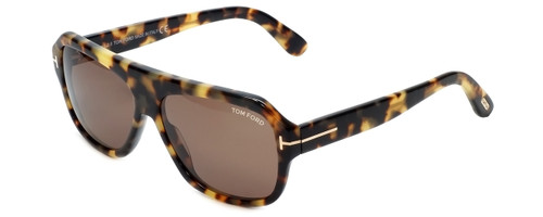 Tom Ford Designer Sunglasses Omar TF465-56J in Tortoise with Brown Lens 60mm