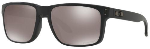 VIP Oakley Designer Sunglasses Holbrook OO9102-D655 in Matte Black with Prizm Black Polarized Lens