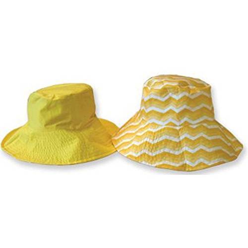 Sun Lily Fashion Flips Reversible Sun Hat with Tote