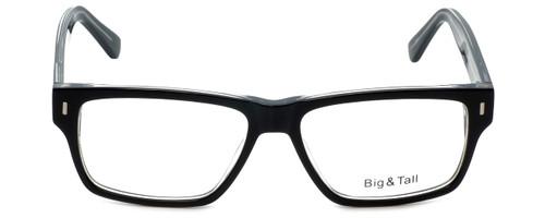 Big and Tall Designer Eyeglasses Big-And-Tall-13-Black-Crystal in Black Crystal 58mm :: Rx Single Vision