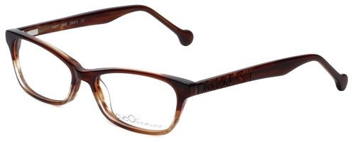 eyeOS Designer Reading Glasses Tamy in Rosewood 50mm