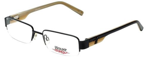 iStamp Designer Reading Glasses XP606M-021 in Black 53mm
