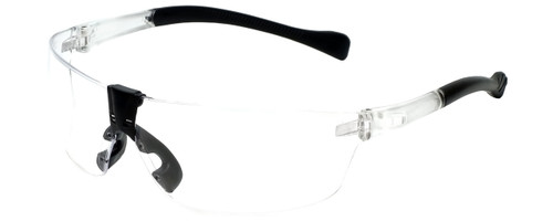 Calabria STS-139CL Clear Safety Glasses