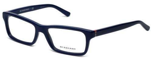 Burberry Designer Reading Glasses B2187-3514 in Blue 53mm