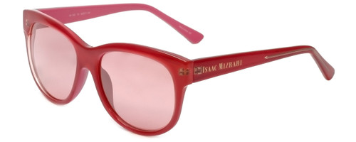 Isaac Mizrahi Designer Sunglasses IM100-73 in Popsicle Pink with Pink Lens