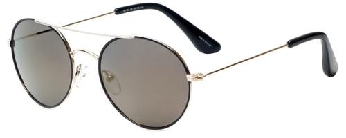 Isaac Mizrahi Designer Sunglasses IM103-10 in Black Gold with Amber Lens