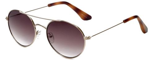 Isaac Mizrahi Designer Sunglasses IM103-61 in Gold  Honey with Brown Gradient Lens