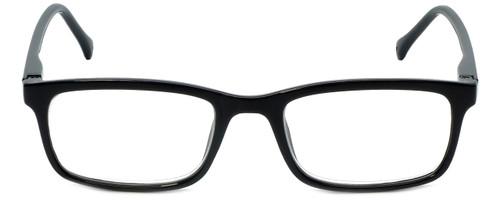 VIP M Readers Designer Reading Glasses 105-SBLK in Black 52mm