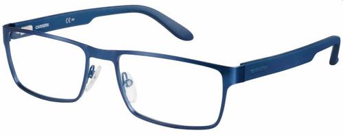 Carrera Designer Reading Glasses CA6656-0TRO in Matte Blue 54mm