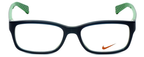 Nike Designer Reading Glasses 5513-325 in Dark Sea Mineral Teal 47mm