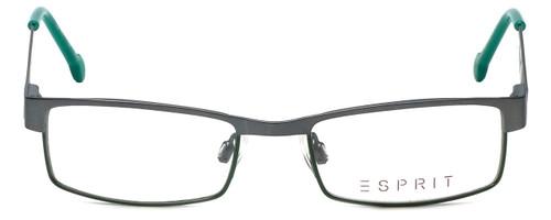 Esprit Designer Reading Glasses ET17412-505 in Gunmetal Green 45mm