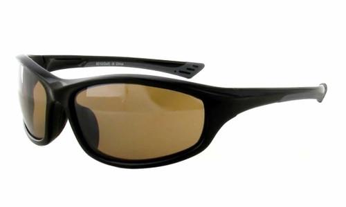 Calabria Golf Sport Sunglasses 8210 in Gloss Black