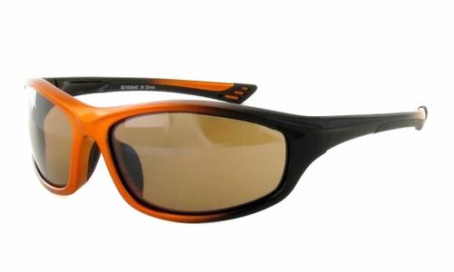 Calabria Golf Sport Sunglasses 8210 in Orange-Black