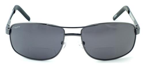 81953aa3af Coyote BP-16 Polarized Bi-focal Reading Sunglasses in Gun - Speert ...