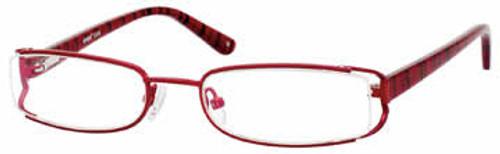 Seventeen Designer Eyeglasses 5308 in Burgundy :: Custom Left & Right Lens