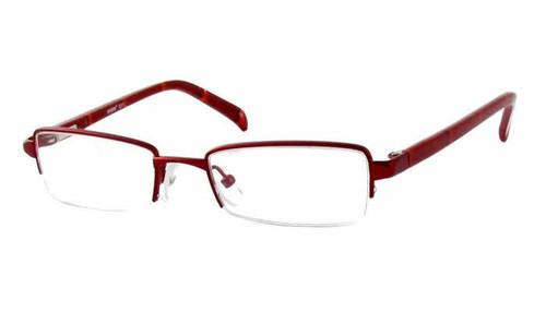 Seventeen Designer Eyeglasses 5311 in Burgundy :: Custom Left & Right Lens