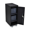 LLTP12-B 12 Chromebook Charging Cart with Electrical Outlets