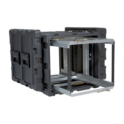 9U Case with Slide Out Rack