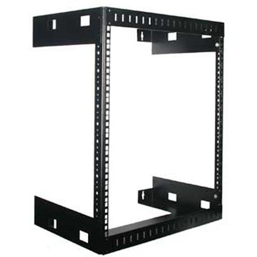 Rackmount Solutions WM15-13 - 15u Wallmount Relay Rack, 13 inches deep