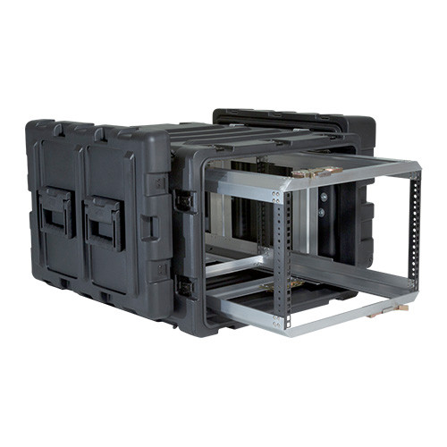 7U Case with Slide Out Rack