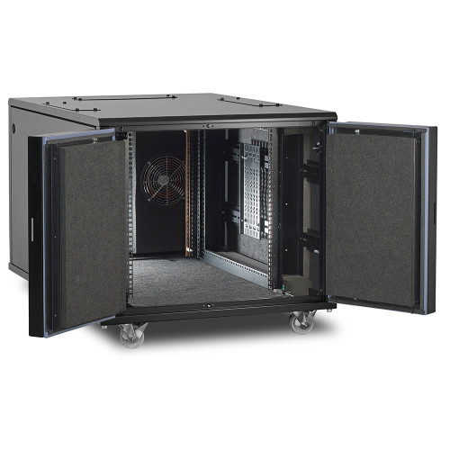 12u Ucoustic 9210 Series Soundproof Server Cabinet
