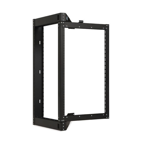 Kendall Howard 1915-3-800-18 - 18U Phantom Class Open Frame Swing-Out Rack