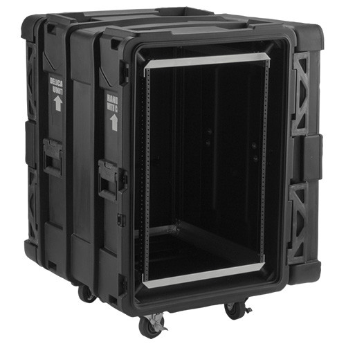 "16u Shock Rack Case 24"" deep"