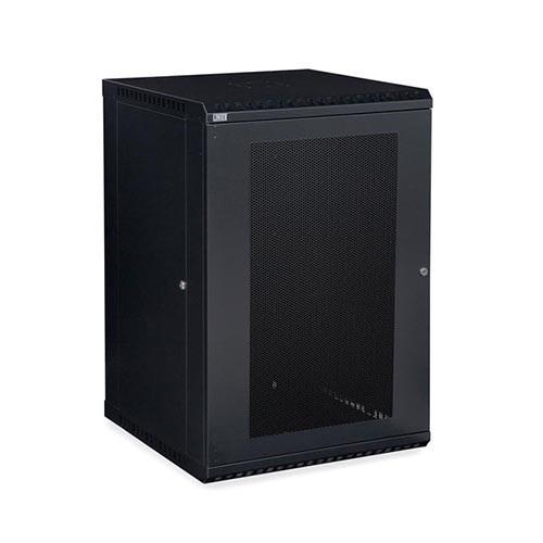 Kendall Howard 3142-3-001-18 - 18U LINIER Fixed Wall Mount Cabinet - Vented Door
