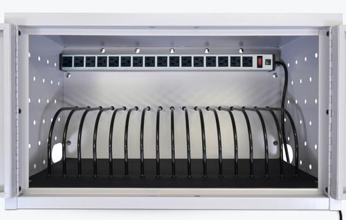 Wall / Desk Charging Box  16 Tablets / Chromebooks LLTMW16-G