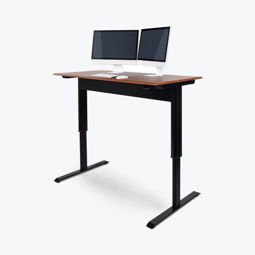 56 Quot Pneumatic Adjustable Height Standing Desk Serverrack Com