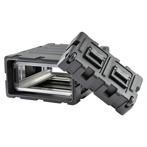 4U Case with Slide Out Rack