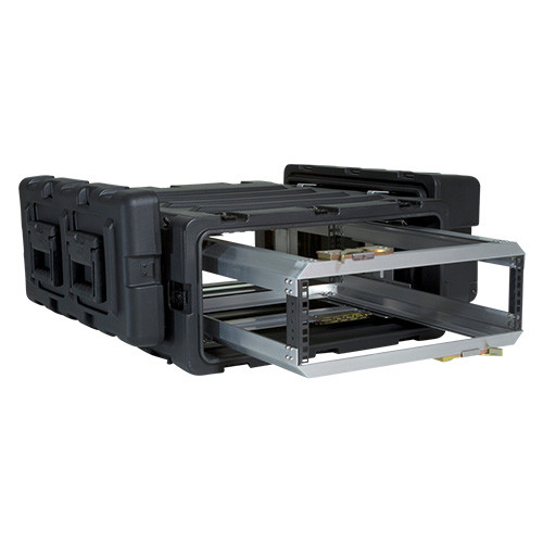 3U Case with Slide Out Rack