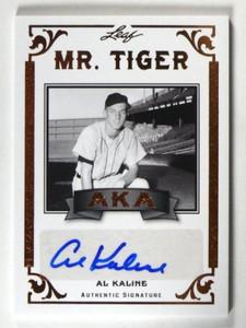 2012 Leaf Legends Of Sport AKA Al Kaline auto autograph #AKA-AK1 *39888