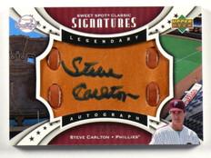 2007 Sweet Spot Classic Steve Carlton auto autograph auto autograph #D57/75 *387