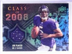 2008 Upper Deck Icons Class of Joe Flacco Rookie Jersey #D085/199 #CO19 *62846