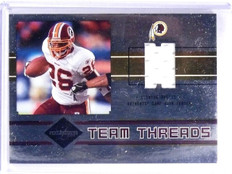 2004 Leaf Limited Team Threads Clinton Portis Coles Jersey #D48/50 #TT25 *63303