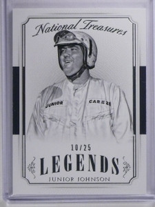 2016 Panini National Treasures Legends Junior Johnson #D10/25 #45 *65649