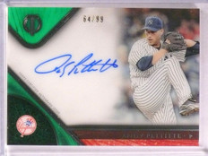 2017 Topps Tribute Green Andy Pettitte autograph auto #D64/99 #TA-AP *67462