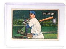 1951 Bowman Duke Snider #32 Dodgers VG *52189