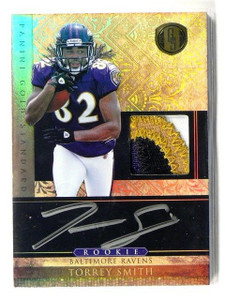 DELETE 13137 2011 Gold Standard Torrey Smith auto autograph 4lr patch rc rookie #D289/525 *41