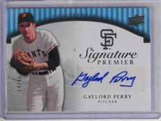 2008 Upper Deck UD Premier Gaylord Perry auto autograph #D14/45 *35415
